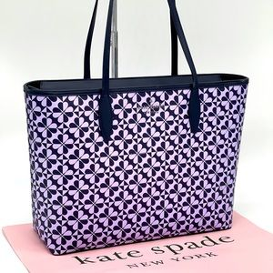 Kate Spade Hollie Spade Clover Geo Bag